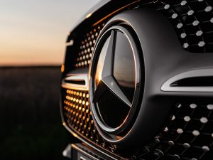 Mercedes brand