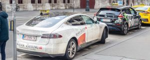 Taxi Tesla